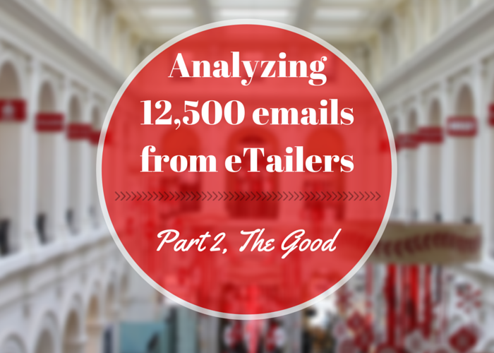 ecommerce email analysis